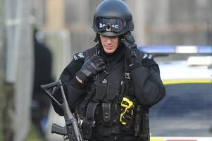 investigation ongoing after armed police arrest man on stoke-on-trent street