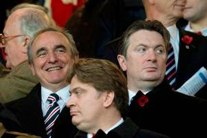 Former Rangers chief Derek Llambias and Graham Carr close in on potential Morton takeover alongside Easdale brothers