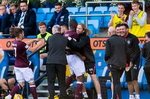 hearts warned next five games will determine whether they are title challengers or not