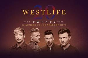 westlife announce 20th anniversary tour with huge scottish date