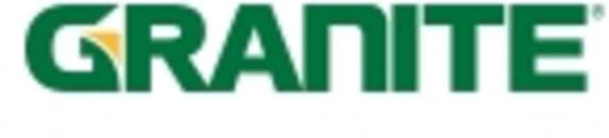 Granite Announces Timing of Earnings Release and Investor Conference Call