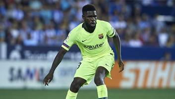 barcelona defender samuel umtiti set to miss pivotal clashes with inter and real madrid