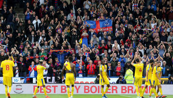 crystal palace fans sceptical over surprising link to champions league star