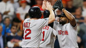 Jackie Bradley Jr. Grand Slam Launches Red Sox to ALCS Game 3 Win Over Astros