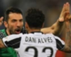 buffon: dani alves would swap champions league crowns for my world cup win