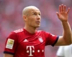 robben: thirty-four is not too old, there is only good or bad