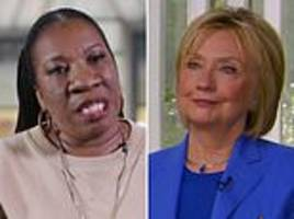 #metoo founder hits out at hillary clinton for saying bill's affair wasn't abuse of power