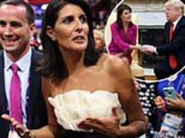 nikki haley dishes dirt on trump administration at secretive conservative conference