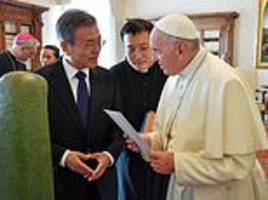 Pope Francis indicates willingness to visit North Korea