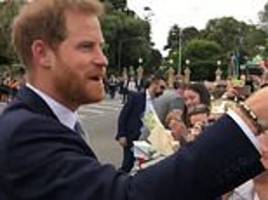 prince harry surprised by choir singing his wedding song stand by me
