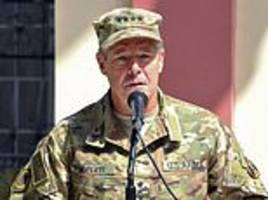 taliban says deadly attack targeted top us commander in afghanistan