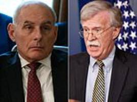 trump's chief of staff and national security advisor clash in profanity-laden shouting match