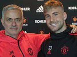 Luke Shaw admits a new deal at Manchester United felt impossible last season