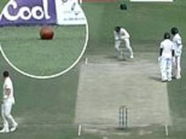 Pakistan batsman run-out after thinking ball had gone for four