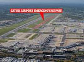 Gatwick Airport will widen emergency runway for use by passenger planes