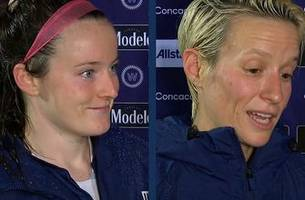 rose lavelle and megan rapinoe discuss winning the 2018 concacaf women's championship