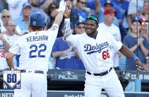 watch the best 60 seconds from brewers vs. dodgers nlcs game 5 | #october60