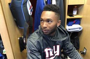 Haley on Giants' roster and going home to see mom