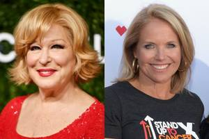 'murphy brown' sets all-star guest lineup, including alums katie couric and bette midler