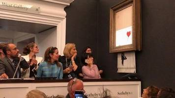 'shred the love' reveals banksy stunt did not go to plan