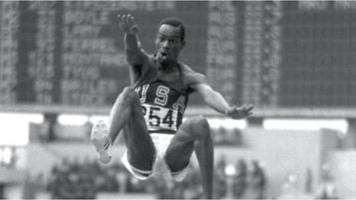 fifty years on: bob beamon smashes long jump world record at mexico olympics