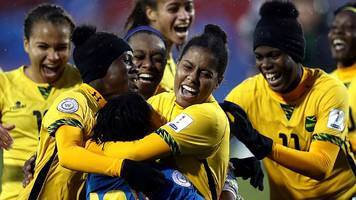 jamaica qualify for women's world cup with help from bob marley's daughter