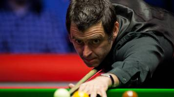 ronnie o'sullivan: five-time world champion beats matthew stevens at english open