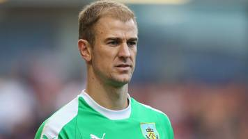 hart has nothing to prove on man city return - dyche