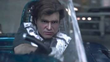 this is what 'solo' would have looked like starring young harrison ford