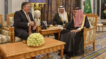 After Talks Over Khashoggi Case, Pompeo Emphasizes US-Saudi Alliance