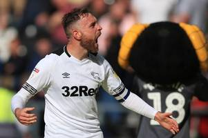 derby county ticking over quite nicely under frank lampard, says richard keogh