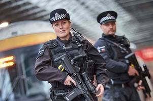 Armed police will patrol Birmingham's German Market for the first time this year