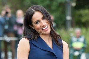 Pregnant Meghan Markle wears unusual necklace on Royal Tour to Australia - and there's a sweet reason