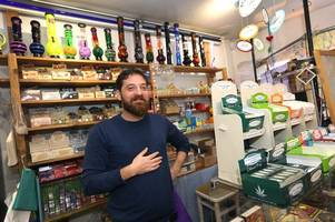 the shop in cornwall where you can buy cannabis and it is completely legal