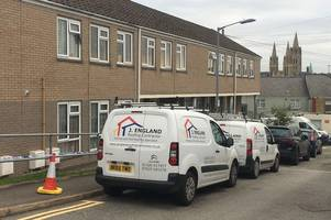 residents rehomed while workers repair truro roof damaged during man's 28-hour standoff with police