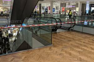 westfield witness describes the moment she saw a man 'fall from the sky'