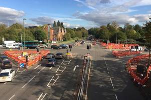 Guildford Stoke crossroads traffic lights working again as county council finally explain 56 hour downtime