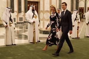 kushner, saudi crown prince reportedly talk on whatsapp