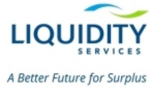 liquidity services announces sales event for cosmetics manufacturing and packaging equipment