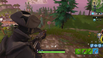 get a score of 3 or more at different shooting galleries - fortnite challenge guide