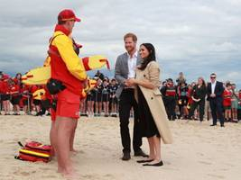 harry and meghan hit melbourne on royal tour