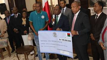 africa cup of nations: rewards for malagasy history makers