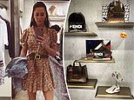 Meghan Markle's friend Jessica Mulroney goes shopping in Sydney as she joins royal tour