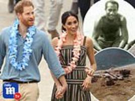 prince harry and meghan will unveil statue of fijian special forces hero during their royal trip