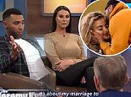 jermaine pennant refuses to do a lie detector test on jeremy kyle