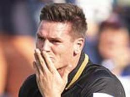 freddie burns to keep bath place despite premature try celebration that cost his side
