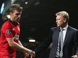 michael carrick reveals the first thing david moyes told man united players after joining