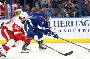 red wings still looking for first win after 3-1 loss in tampa