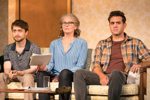 'the lifespan of a fact' broadway review: daniel radcliffe stands up for the truth