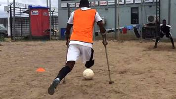 Nigerian amputee football team captain on how the sport changed his life